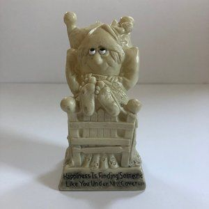 vtg figurine happiness is finding someone like you